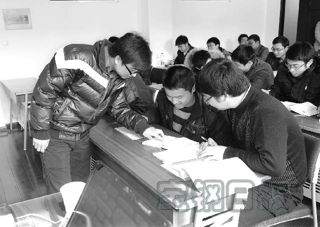 宝钢计划接待1483名大学生实习图片