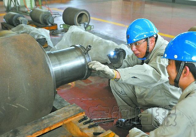 钢厂磨床结构图
