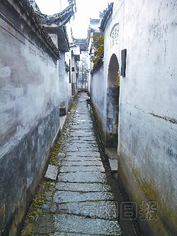 壁纸 风景 古镇 建筑 街道 旅游 摄影 小巷 360_480 竖版 竖屏 手机