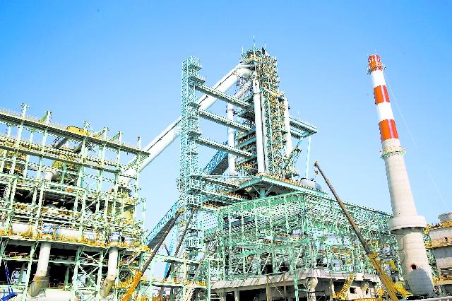 湛江钢铁二号高炉建设稳步推进
